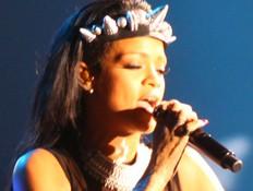 ריהאנה בפארק (צילום: ענבל צח)