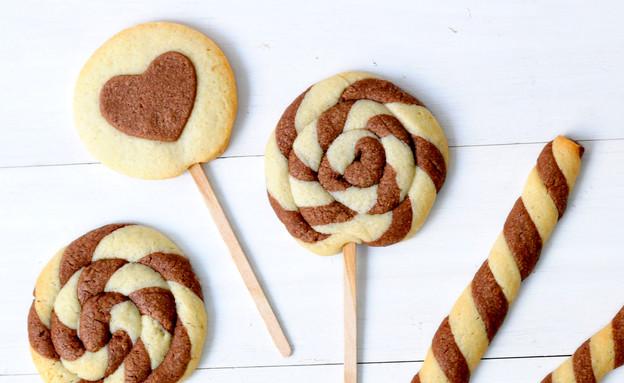עוגיות שחור-לבן (צילום: שרית נובק - מיס פטל, אוכל טוב)