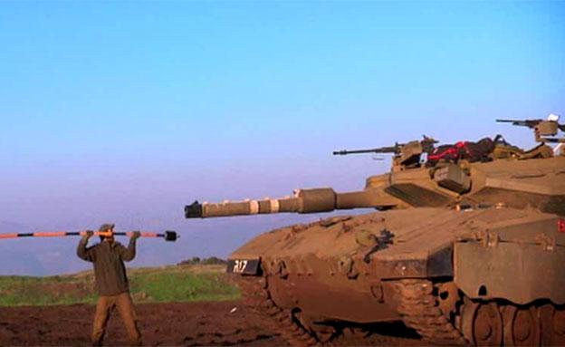 חיילים, טנק, צבא (צילום: חדשות 2)
