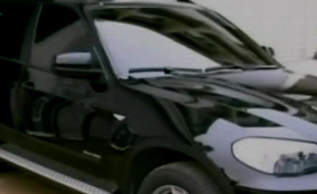 רכב משוריין (צילום: חדשות 2)