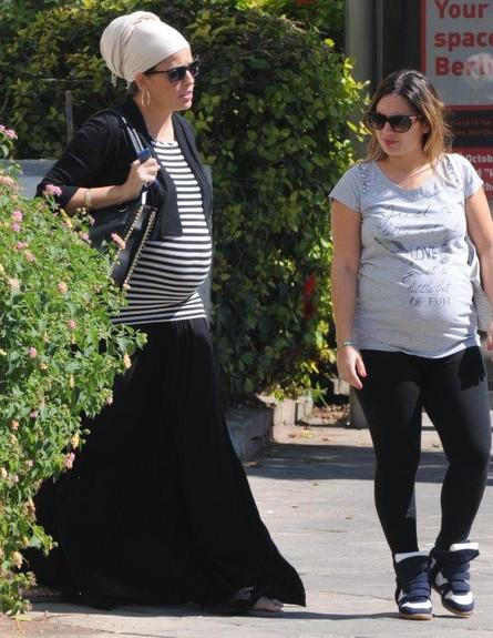 לינור אברג'יל בהריון 2013