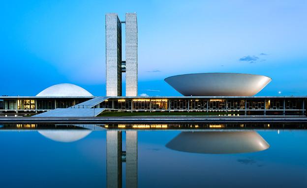 ברזילה, בניין הקונגרס הלאומי חוץ (צילום: Andrew Prokos Architectural Photography)