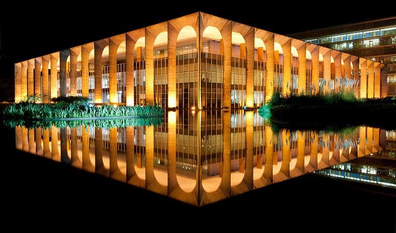 ברזיליה, המשרד ליחסי חוץ (צילום: Andrew Prokos Architectural Photography)