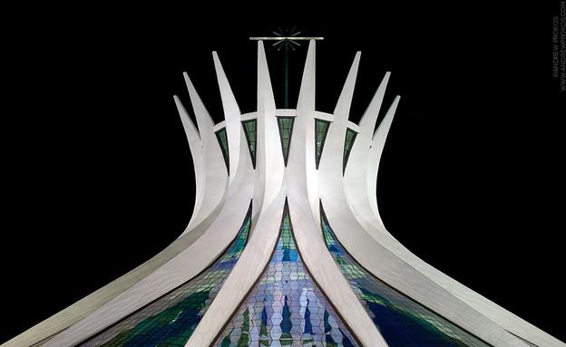 ברזיליה, הקתדרלה  (צילום: Andrew Prokos Architectural Photography)