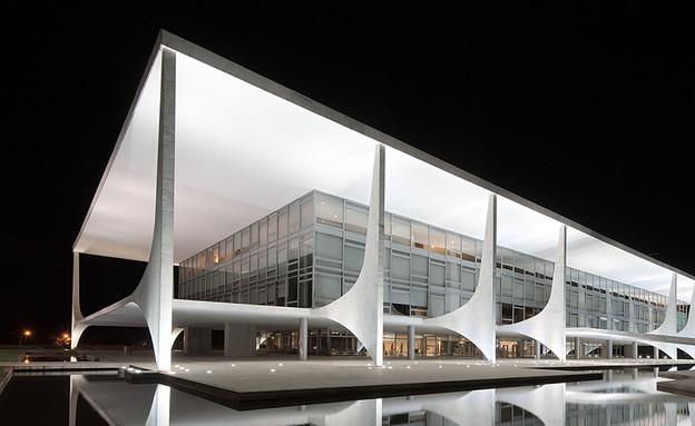ברזיליה, משכן הנשיא (צילום: Andrew Prokos Architectural Photography)