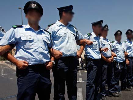 כוחות משטרה ישראלים 20081708 רויטרס (צילום: חדשות 2)