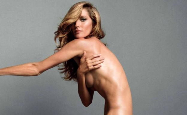 ג'יזל חושפת לווג (צילום: מתוך מגזיו Vogue Paris)