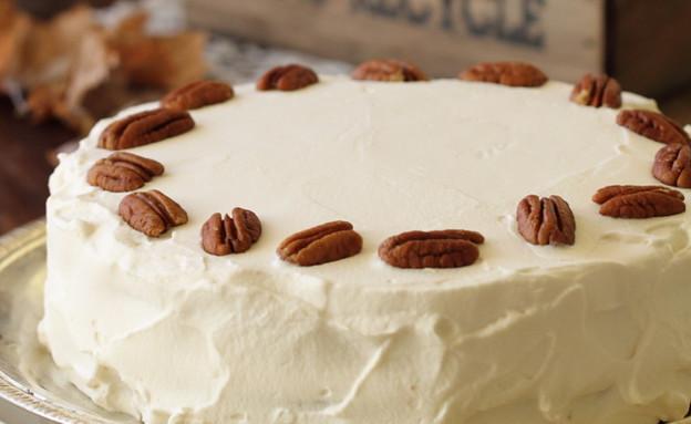 עוגת מייפל ופקאן (צילום: חן שוקרון, אוכל טוב)
