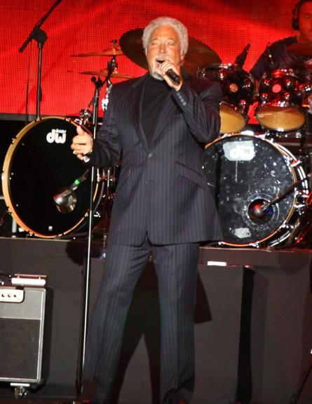 טום ג'ונס הופעה (צילום: ענבל צח)