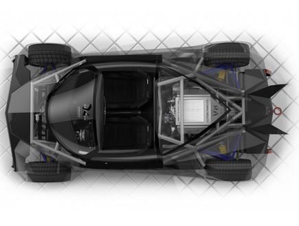 Supercar System מכונית על אמריקאית זולה
