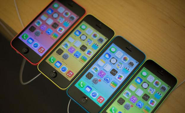 אייפון 5c (צילום: Lam Yik Fei, GettyImages IL)