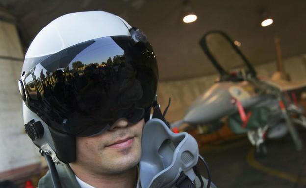 טייס חיל האוויר הישראלי (צילום: David Silverman, GettyImages IL)
