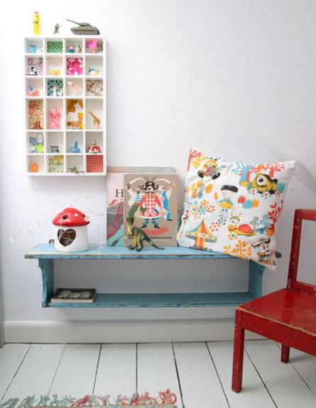 שדרוג חדרי ילדים, ספסל תלוי