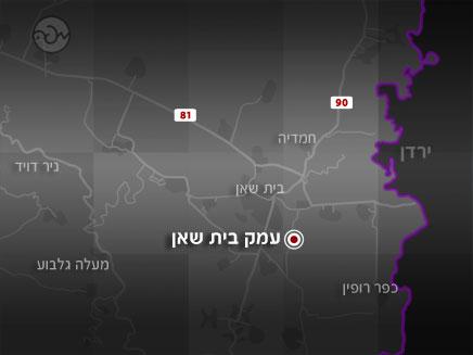 מקום האירוע (צילום: mapa)