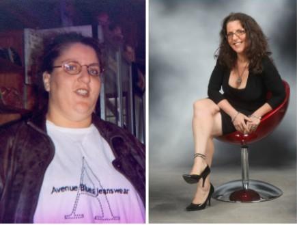 פלורה דה הלה ראה לפני ואחרי (צילום: תומר ושחר צלמים, צילום ביתי)