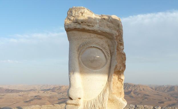 תיירות במצפה רמון (צילום:  שמעון איפרגן)