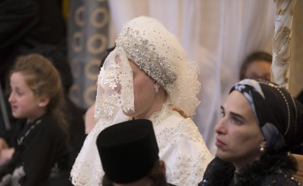 גירושים במגזר החרדי- כלה חרדית בחתונתה (צילום: Uriel Sinai, GettyImages IL)
