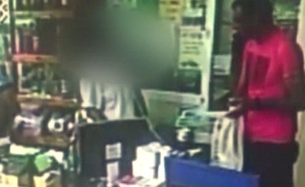 צפו: נתיב הבריחה של החשוד ברצח (צילום: חדשות 2)