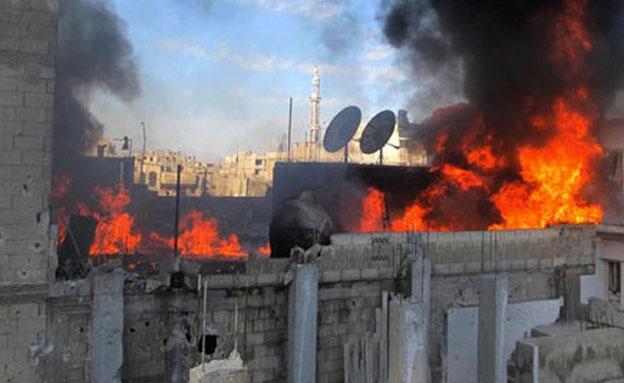 דיווח: בסיס סורי הותקף מהים (צילום: AP)