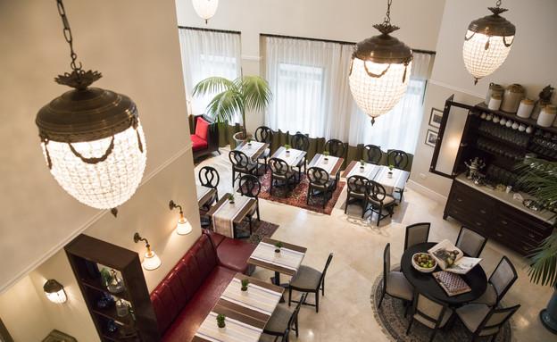 חדר אוכל, מלון ארתור (צילום: נתן דביר)