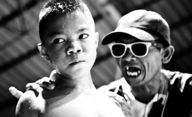ילדים נלחמים בתאילנד