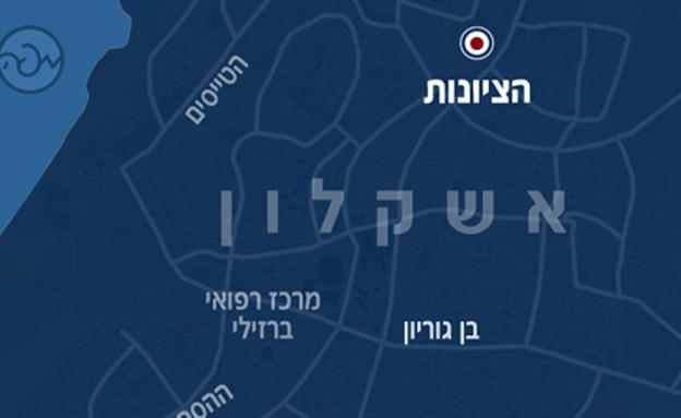 זירת הפיצוץ (צילום: חדשות 2)