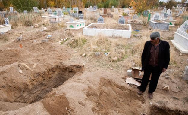 בית קברות עתיק בטורקיה, ארכיון (צילום: Reuters)