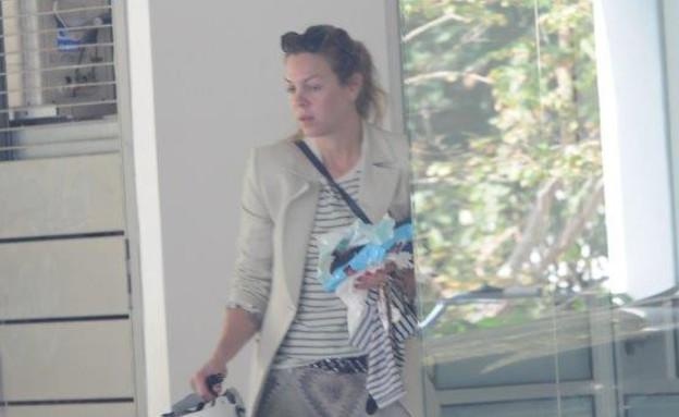 אילנה ברקוביץ' חזרה לגזרה (צילום: ברק פכטר)