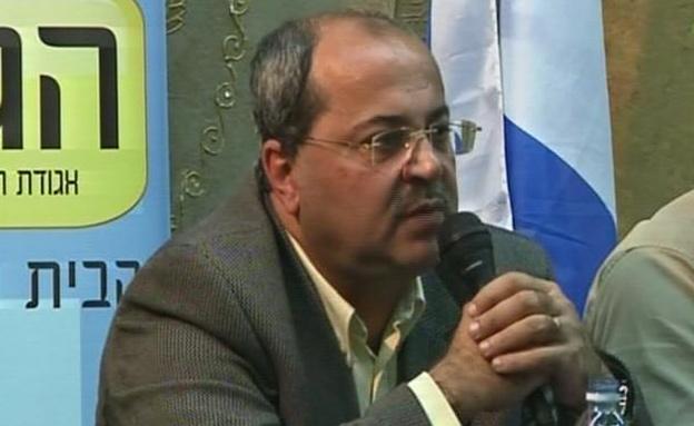 אחמד טיבי (צילום: חדשות 2)