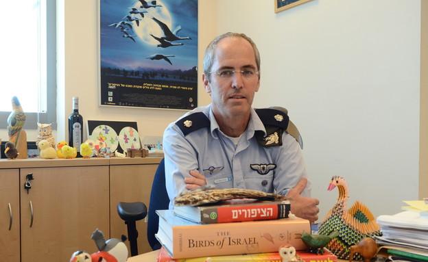 """רמ""""ד צפרות בחיל האוויר (צילום: מתן פאר, עיתון """"במחנה"""")"""