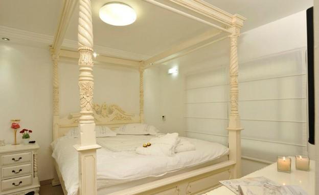 מיטת אפיריון, סוויטת העמיינות (צילום: רועי חן)