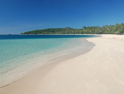החוף בו צילמו את הלגונה הכחולה, פיג'י