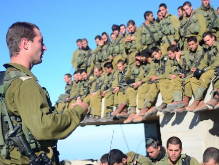 תרגיל גדוד הסיור של חטיבת הצנחנים