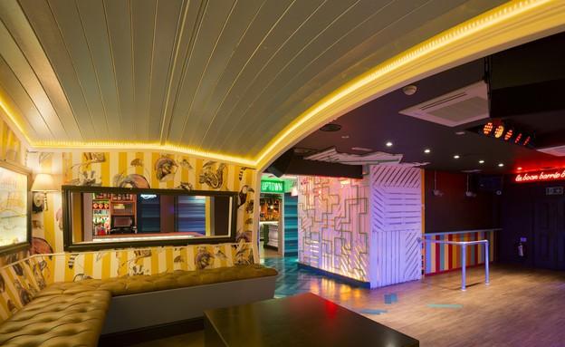 מסעדה לונדון, ספה (צילום: DTWO Design)