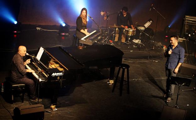 קובי אפללו, שם טוב לוי, פסטיבל הפסנתר (צילום: אורית פניני)