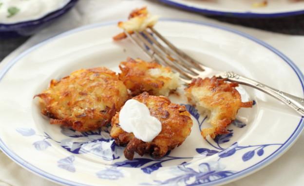 לביבות תפוחי אדמה (צילום: חן שוקרון, אוכל טוב)