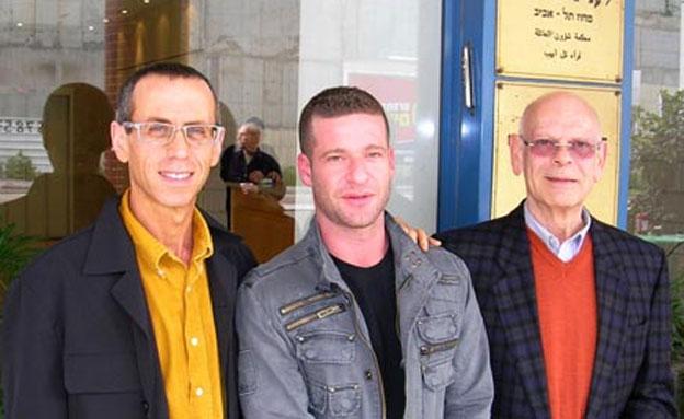 פרופ' אבן (מימין) ובן זוגו לשעבר (משמאל) (צילום: חדשות 2)