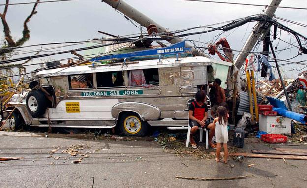 פיליפינים סופה טורנדו הרס (צילום: רויטרס)