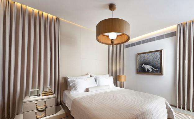 עיצוב בהזזה, חדר שינה (צילום: שגב צילום)