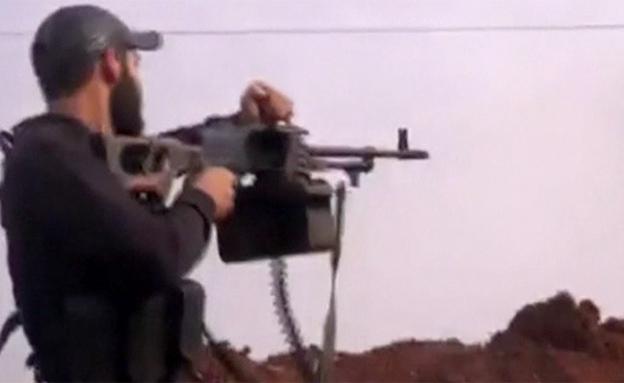 איש אל נוסרה בחאלב (צילום: צילום מסך)