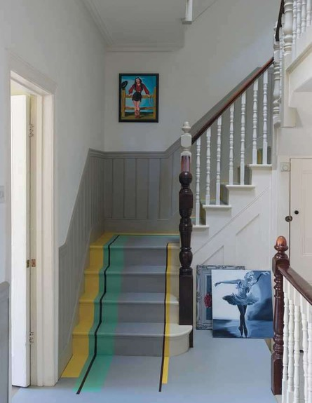 שדרוג מדרגות, פסים (צילום: jacksonville.com)