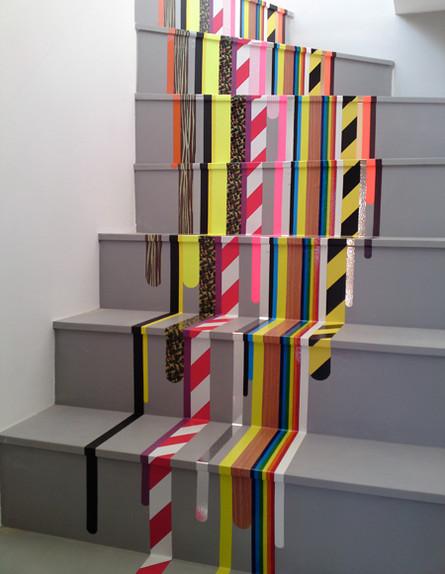 שדרוג מדרגות, צבעוני (צילום: www.iampascal.com)