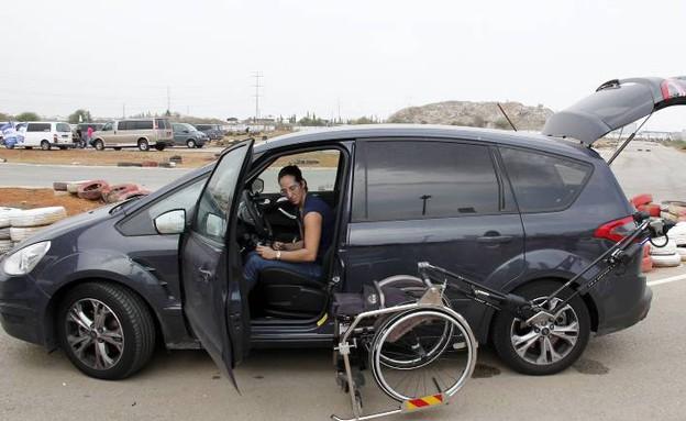 השתלמות נהיגה מתקדמת לנכים (צילום: נעם וינד)