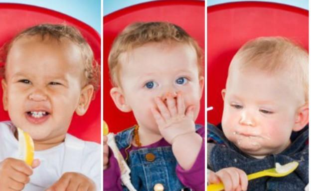 מה תינוקות אוהבים לאכול (צילום: דיילי מייל)