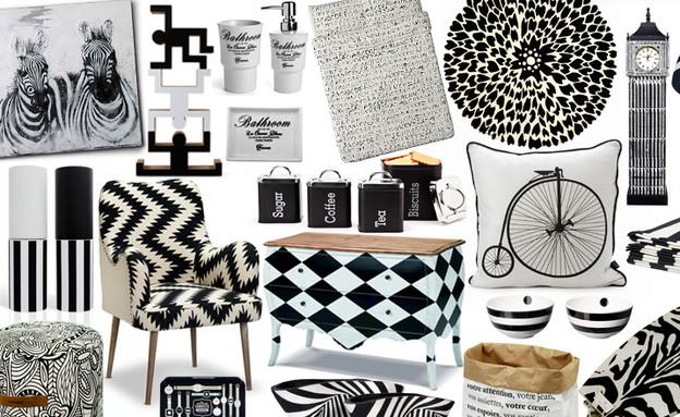 שחור לבן, קולאז'