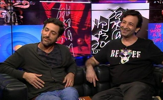 שי להב ואורן ברזילי באולפן (תמונת AVI: mako)