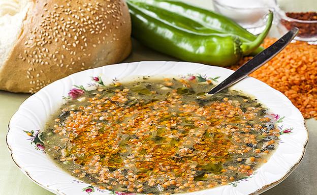 מרק עדשים (צילום: אסף אמברם, אוכל טוב)