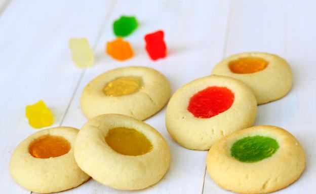 עוגיות דובוני גומי (צילום: שרית נובק - מיס פטל, אוכל טוב)