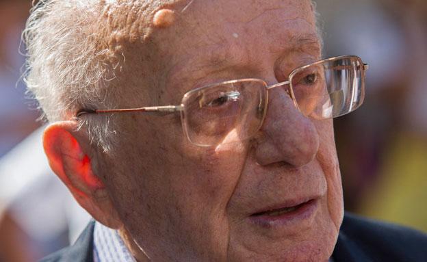 יחיאל קדישאי, בן 90 במותו (צילום: Flash 90, יונתן סינדל)