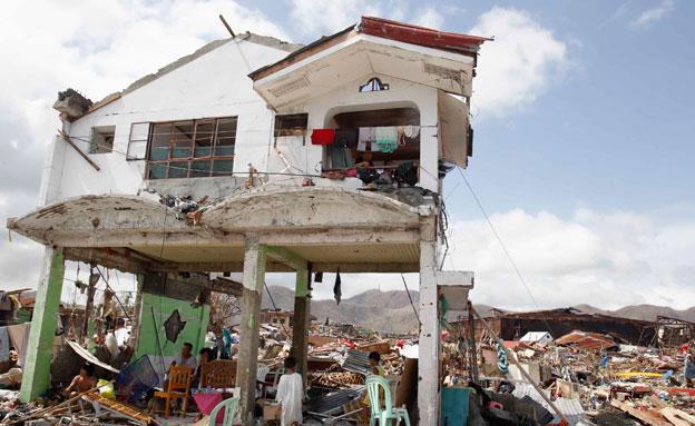 טייפון, פיליפינים (צילום: רויטרס)